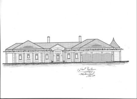 Theodore Dial's design for DAC-ART coastal home